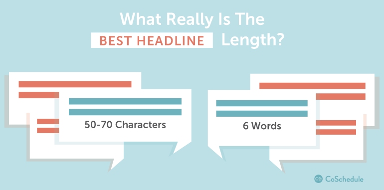 best blog title length